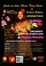 Susana Savedra lança Desnuda