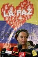 Decisão de Uribe, balde de água fria, afirmou senadora colombiana