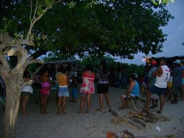 Resistência contra ação de despejo no Bairro Caça e Pesca