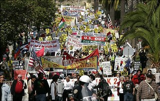 Protestos nos EUA Contra a Guerra