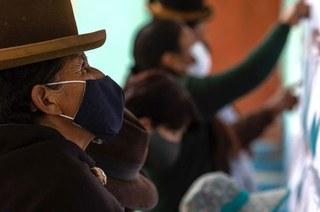 Candidato do MAS triunfa nas históricas eleições bolivianas