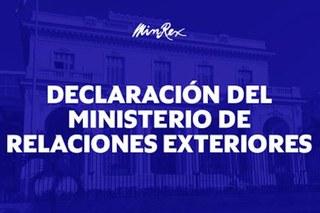 Condenação firme e absoluta da fraudulenta qualificação de Cuba como Estado patrocinador do terrorismo