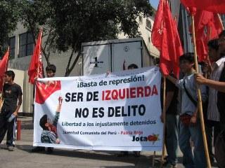 Declaração Coordenadora Continental Bolivariana Capítulo Perú