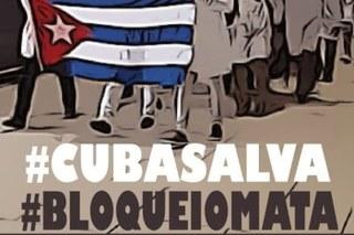Embaixada de Cuba recebe solidariedade de movimento social contra ataques