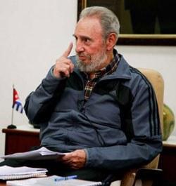 Fidel Castro alerta sobre perigo de guerra nuclear por ataque ao Irã