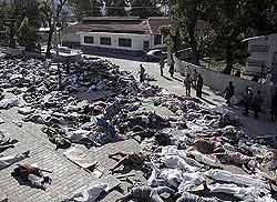 Haiti: confirmadas mais de 70 mil mortes por terremoto