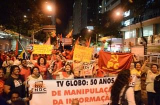 Ato no Rio de Janeiro reúne 25 mil pessoas em 20 de agosto