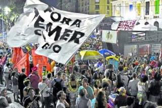 Brasil mobiliza-se contra a reforma trabalhista de Temer