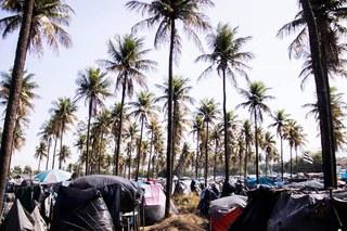 Campo de Refugiados em Itaguaí, A cidade do Porto