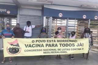 Contra o genocídio do Povo Brasileiro, Vacina já para todos!