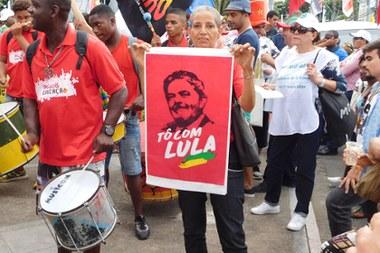 Defesa de candidatura de Lula ganha espaço em Fórum Social Mundial