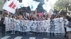 Estudantes no RJ em defesa do passe livre!