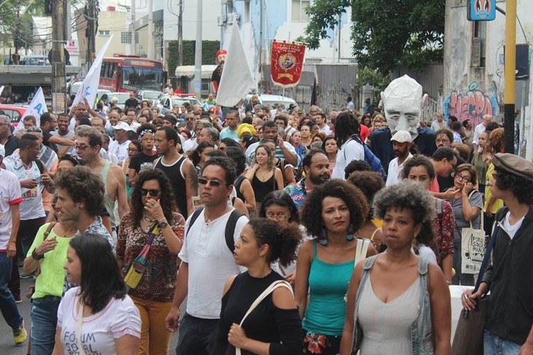 Passeata de abertura do FSM 2018 - Salvador-Bahia