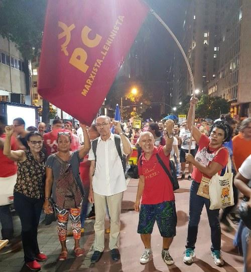 Militantes do PCML - Rio de Janeiro