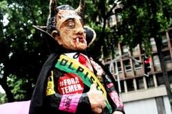 Manifestação contra a Reforma da Previdência no Rio de Janeiro