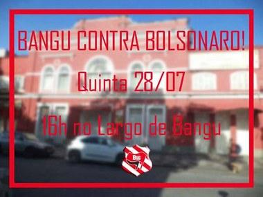 TORCEDORES DO BANGU CONTRA O FASCISMO E CONTRA O GOLPE