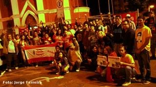 Torcida do Bangu contra o Fascismo e o Golpe