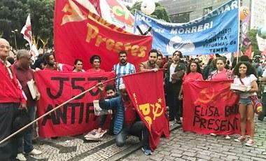 Um 28 de abril de avanços nas lutas de massas no Rio de Janeiro