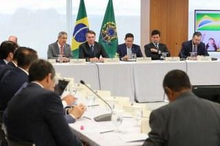 A reunião ministerial do Governo Bolsonaro