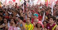 Ato a favor da reeleição de Dilma em Belo Horizonte