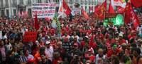 Ato contra o golpe e em defesa da democracia no Rio