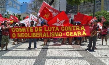 Ato em defesa à reeleição de Dilma Rousseff em Fortaleza