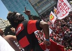 Funk contra o golpe em Copacabana