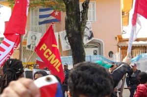 PCML(Br) participa de ato em respaldo a Revolução Cubana