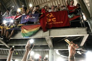 PCML na luta contra o fascismo