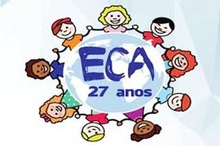 O ECA  - Estatuto da Criança e do Adolescente comemora 27 anos