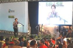 Presidenta Dilma Rousseff inaugura mais unidades do Minha Casa Minha Vida no Rio de Janeiro