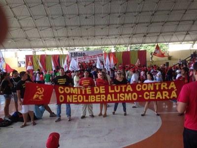 Ato do 1º de Maio de 2015 em Fortaleza