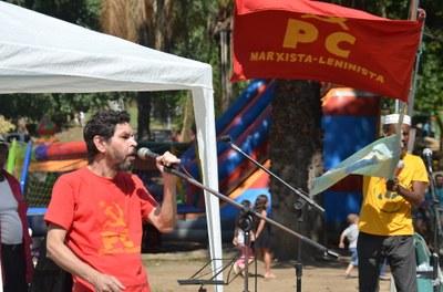 Haroldo de Moura representante do PCML (Brasil)