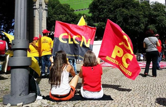 1° de Maio na Praça 8  em Vitória-ES