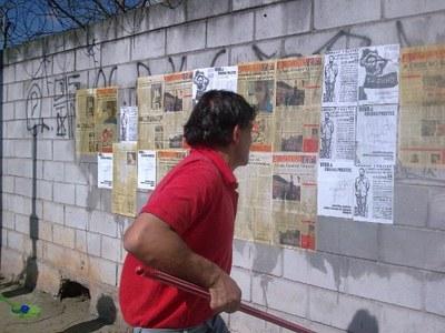 Cinco de Julho - colagem em São Paulo 1