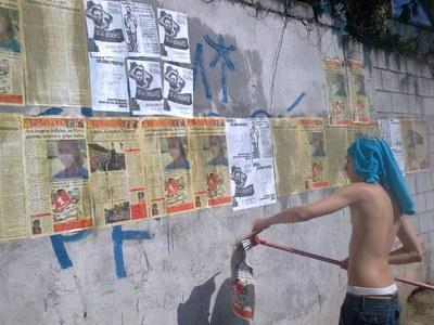 Cinco de Julho - colagem em São Paulo 2