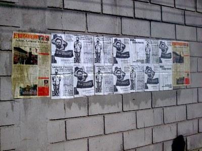 Cinco de Julho - colagem em São Paulo 4