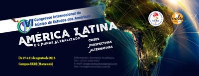 VI Congresso Internacional do Núcleo de Estudos das Américas - 2018