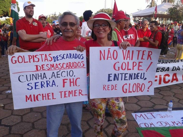 Fora Globo, PDSB, Cunha e Temer (Brasília)