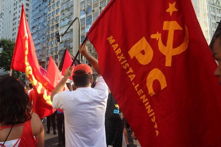 PCML presente na manifestação da Candelária