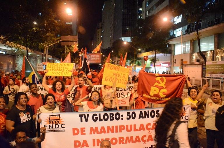 O Partido Comunista Marxista-Leninsta denunciou o Golpe da direita