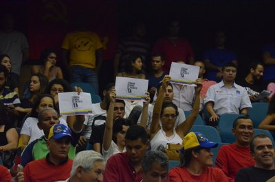 Solidariedade com a Revolução Bolivariana