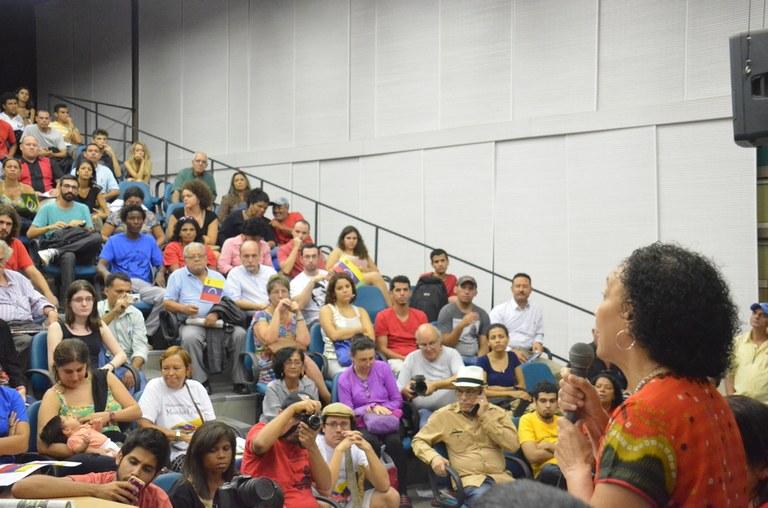 A Venezuela também é solidária com as lutas do povo brasileiro