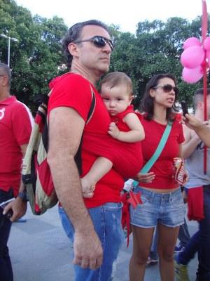 A luta é para garantir uma democracia para nossos filhos