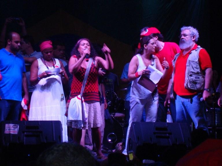 Osmarina Portal dá o recado do PCML (Brasil)