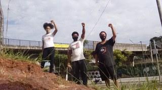 Integrantes do Comitê de Luta da Favela do Nhocuné-CNCN - SP