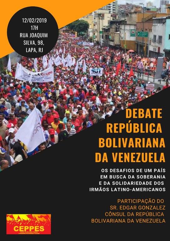 Debate República Bolivariana da Venezuela