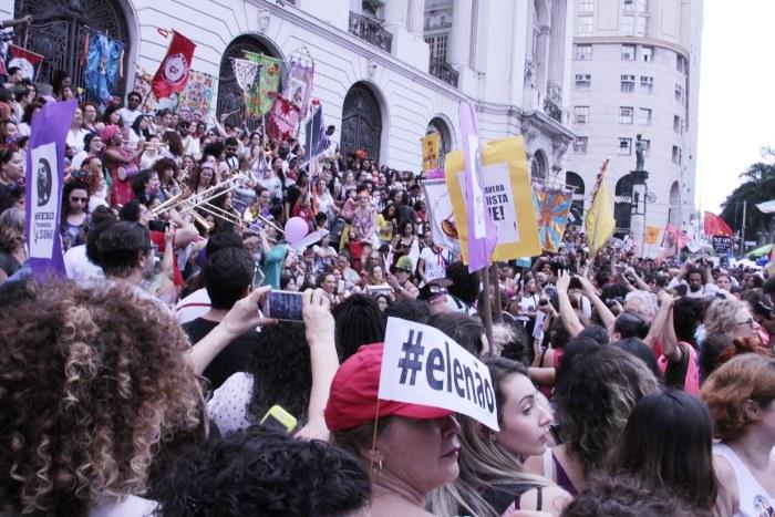 Mulheres contra Bolsonaro, #Ele Não!