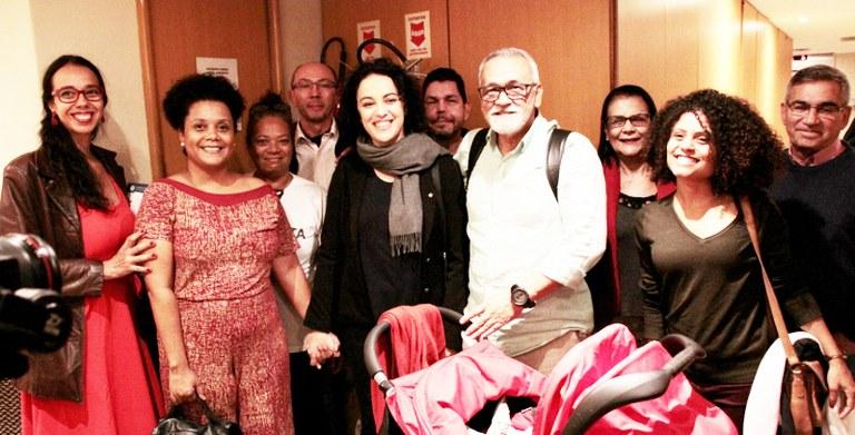 Coletivo do PCML com Marcia Tiburi e o ex-ministro Gilberto Carvalho