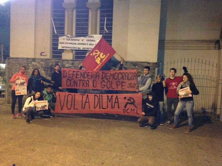 Volta Dilma em São Paulo